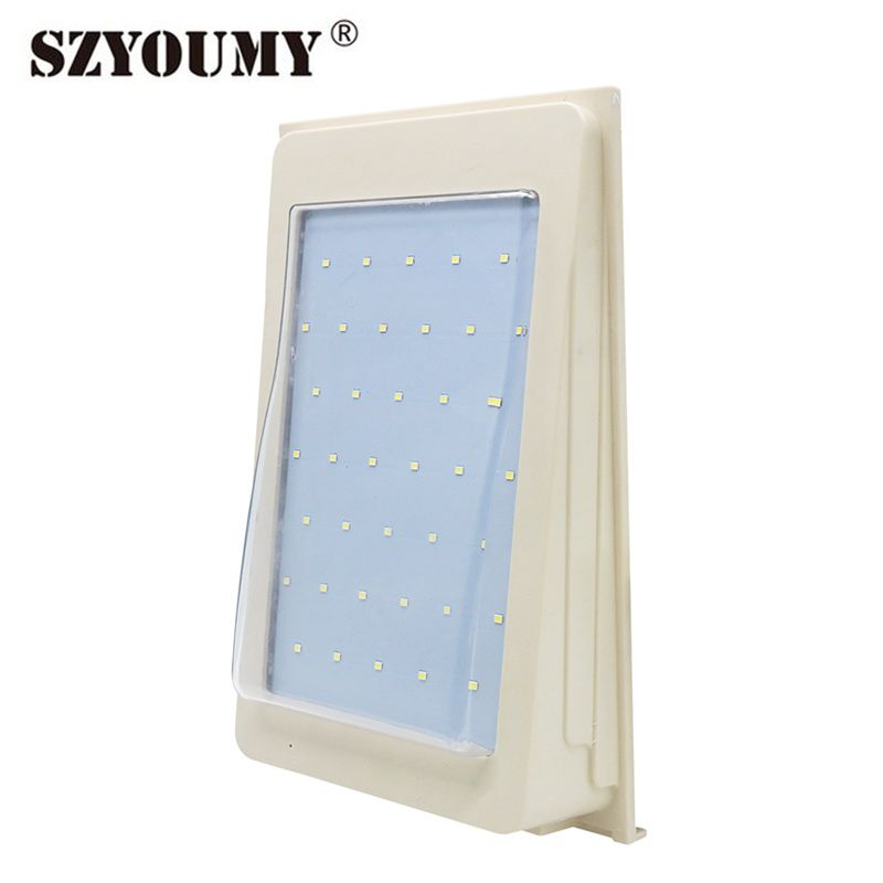 SZYOUMY 20pcs/lot Solar Wall Mounted Light IP65 For Courtyard Road Lighting 3 Years Warranty