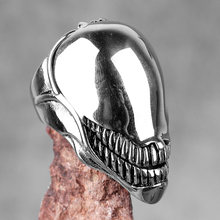 Bagues en acier inoxydable pour hommes, bijoux en forme de Venom dominateur, Punk, Rock, Hip Hop, pour motard, petit ami, cadeau créatif, vente en gros