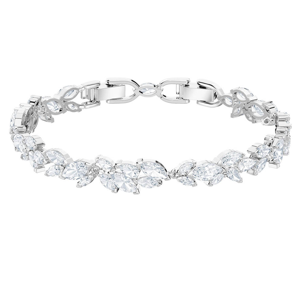 AYOO new high quality original bracelet luxury chic leaves high-grade crystal jewelry to send girlfriends luxury jewelry