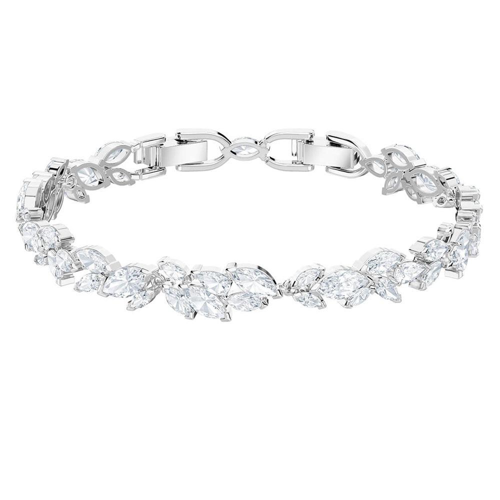 AYOO new high quality original bracelet luxury chic leaves high-grade crystal jewelry to send girlfriends luxury jewelry
