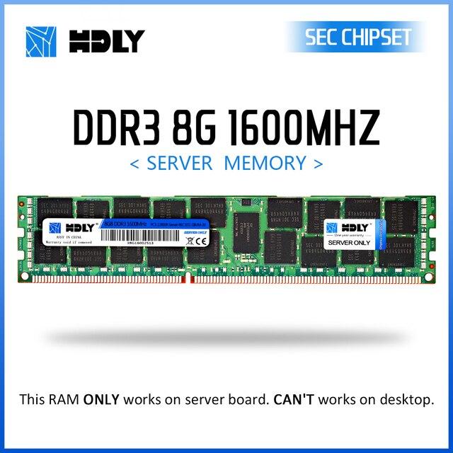 RAM hely DDR3 4GB 8GB 16GB 32GB mémoire serveur 1333MHz 1600Mhz 1866Mhz REG ECC 2011 1366 broches CPU x58 x79 carte mère dimm