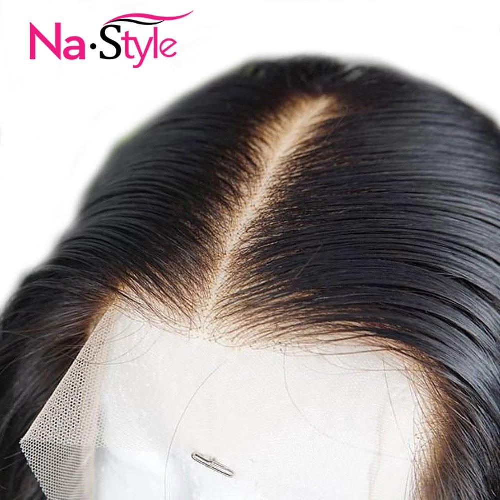 HD Transparent dentelle perruques courtes cheveux humains perruques Bob 13x6 dentelle avant perruque peau fondre dentelle avant perruques de cheveux humains pour les femmes noires Remy