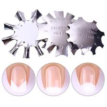 Nail Art Manicure Edge Trimmer Cutter Home, Professional, etc Tool Gel Easy French Fashion Smile Line Tools