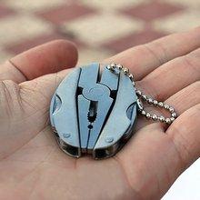 Multifunções portátil dobrável alicate faca foldaway chaveiro chave de fenda acampamento sobrevivência edc ferramentas kits viagem