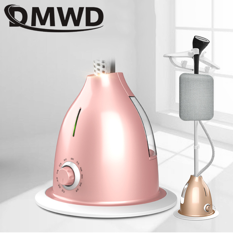 Image 3 - DMWD Electric Vertical Garment Steamer Iron Adjustable Clothes Steamer Hanging Ironing Machine Dry Cleaning Steam Brush 2000W EU-in Garment Steamers from Home Appliances
