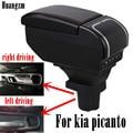 Подлокотник для kia picanto 9USB-интерфейс подходит для левого и правого вождения