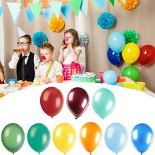 100PCS Mixed Pearl Latex Balloons Birthday Party Decorations Kids Adult Wedding Supplies