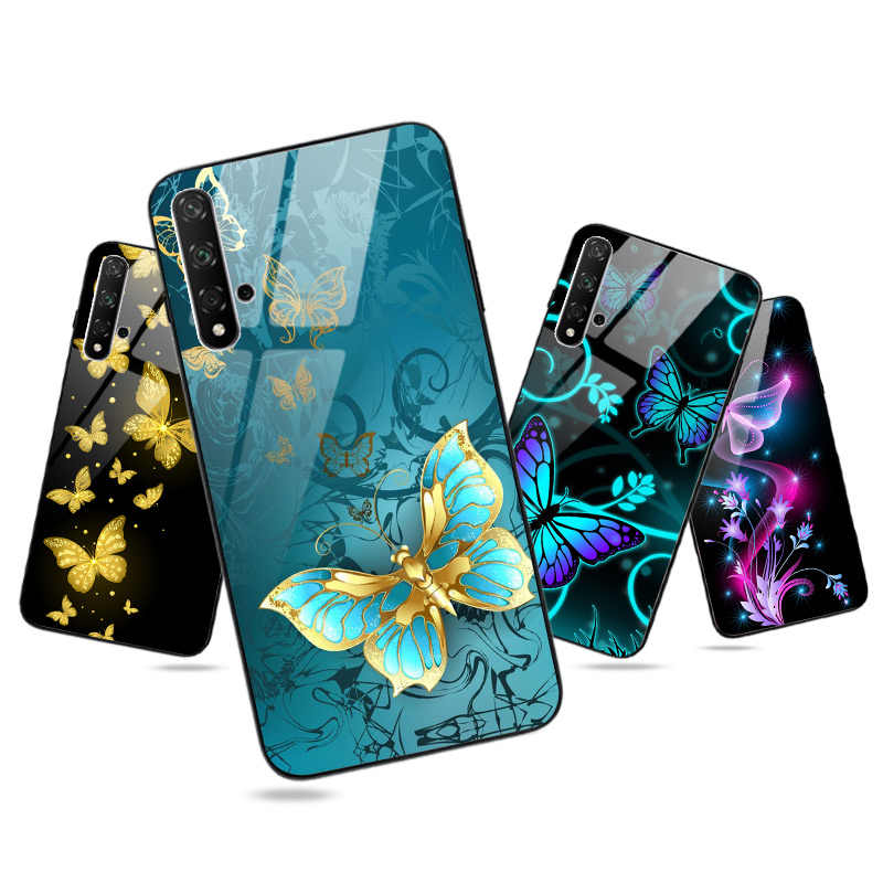 Voor Huawei Honor 8A 8C 8S 8X20 Pro 20S 9X Premium Case Heldere Glossy Honor 9 lite 10 10i Lite 7A 7C 20i 20 Pro View 20 Case