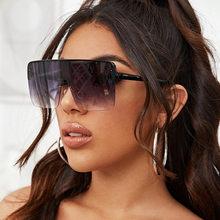 Gafas de Sol cuadradas de gran tamaño para hombre y Mujer, anteojos de Sol unisex de talla grande 2020, con protección UV400