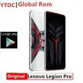 Глобальная прошивка Lenovo Легион Pro 5G игровой телефон 5000 мА/ч, Google Play, активно-матричные осид экран Snapdragon 865 плюс 6,65 дюйм Основная камера 64.00MP