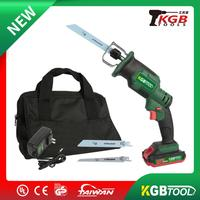 KGB TOOL high quality 18V lithium reciprocating saws saber saw portable cordless electric power tools jig saw wood working metal