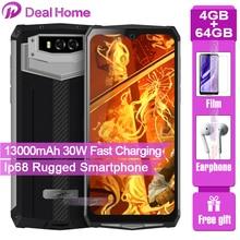 "Blackview BV9100 13000Mah IP68 Robuuste 4Gb Ram 64Gb Rom Smartphone 6.3 ""Scherm Android 9.0 MT6765 Octa core Nfc Otg Mobiele Telefoon"
