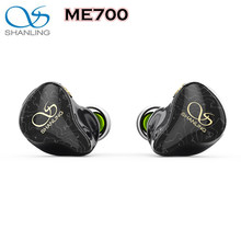 Shanling ME700 1DD+4BA Five Hybrid Driver In-ear Earphone IEM with Triple-Bore Design 3D Printed Shell MMCX Octa-core cable