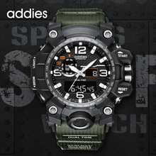 цена на Men Military Army Watch 50m Waterproof Wristwatch LED Quartz Clock Sport Watch Male relogios Automatic Sport Watch Men S Shock