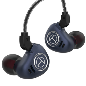 Image 3 - טורנירים V90 4BA + 1DD מתכת אוזניות היברידי יחידות HIFI בס אוזניות באוזן צג אוזניות רעש ביטול אוזניות V80 ZS10 פרו X6