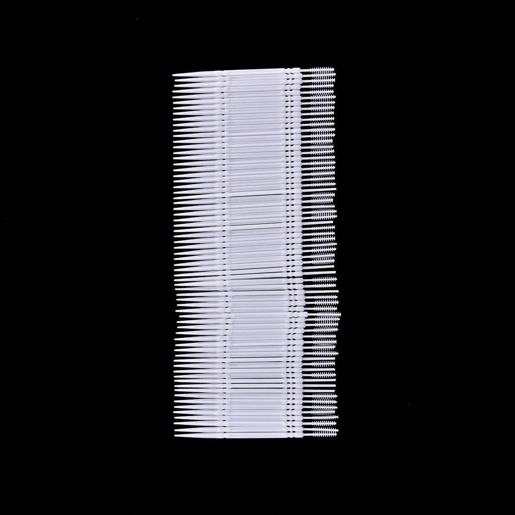 1 scatola di 6.5 centimetri 1100pcs Dental Flosser Spazzolino Da Denti Stuzzicadenti Denti Igiene Orale Cleaner Bastone Flosser Stuzzicadenti Interdentale pennello