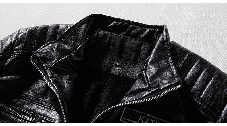 H56f5071307d8427281f3f2a6819f5129t Men's Natural Real Leather Jacket Men Motorcycle Hip Hop Biker Winter Coat Men Warm Genuine Leather Jackets plus size 3XL