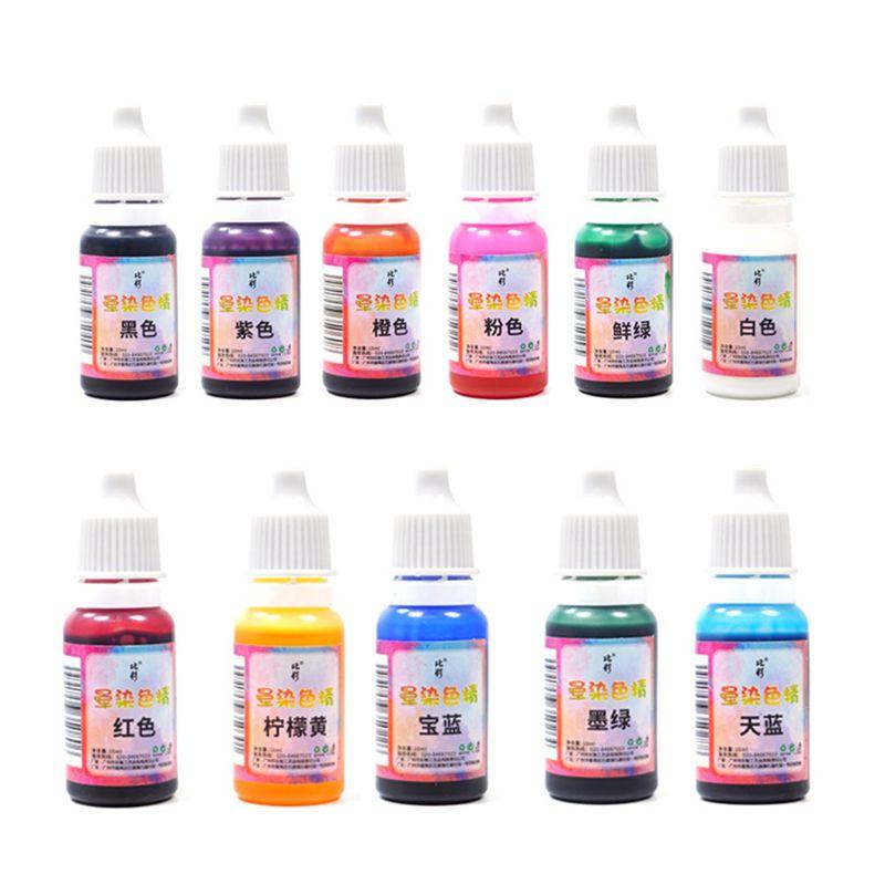 11 Pcs/set Epoxy Pigment Color Fine Manual DIY Crafts Jewelry Making Dye