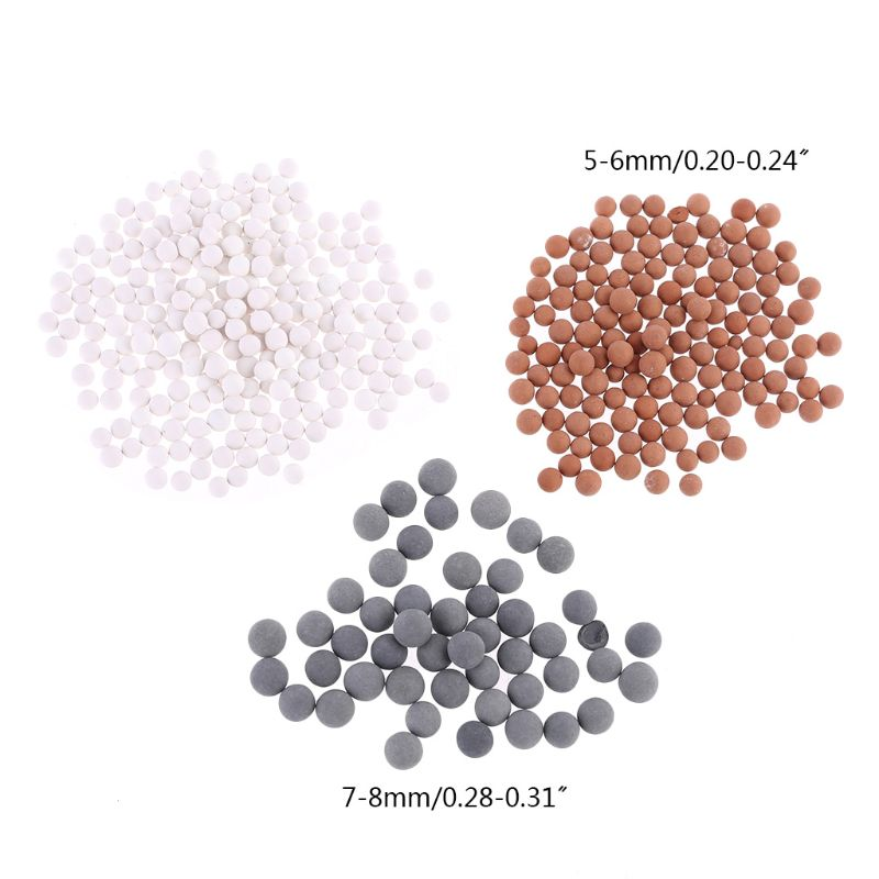 3 Bags Yoa Filtration Shower Head Negative Ion Mineral Balls Shower Filter For Dry Skin Hair