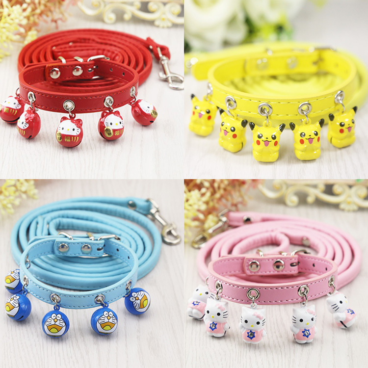 Universal Dogs And Cats Small Dog Teddy Cat Neck Ring Bell Big Dogs Teddy Not Telescopic Rope Universal
