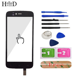 Touch Screen For Fly IQ4411 IQ 4411 Touch Screen Digitizer Panel Touch Glass Sensor Capactive Replacement Parts Adhesive Tools