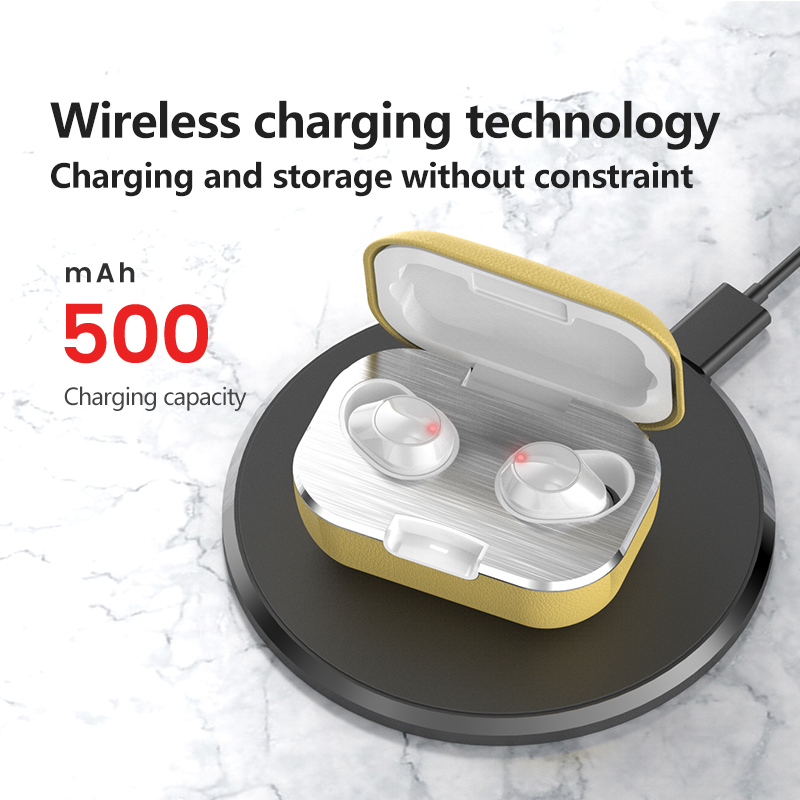 N70 TWS 5.0 Wireless Headphones Bluetooth Earphones Sports Earbuds Stereo Headset Handsfree Auriculares With Leather Charge Box