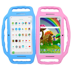 Parental control 7 Inch M755 Kids Tablet PC RK3126 Quad Core 1GB+8GB 1024*600 Android 7.1 for kids learning Gift Silicone Case