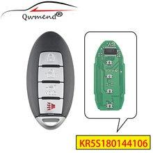 Qwmend kr5s180144106 suv модель 4 кнопки Автомобильный Дистанционный