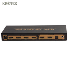 6x2 HDMI Matrix Switcher 4K Hdmi 6 to 2 matrix Switch Adapter Audio EDID/ARC/Audio Extractor,PIP For HDTV CCTV DVD Free Shipping