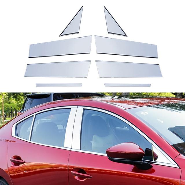 нержавеющая сталь автомобильный зеркальный эффект оконный столб фотография