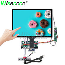 wisecoco 15 inch touch screen 1024*768 antiglare LCD for notebook cash register industrial display LQ150X1LG81 industrial display lcd screenltn133at17 13 3 inch led notebook screen