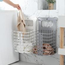 Практичная Пластиковая Складная корзина для белья и грязной одежды тонкое мастерство длительный срок службы большой размер непробивной коллекции