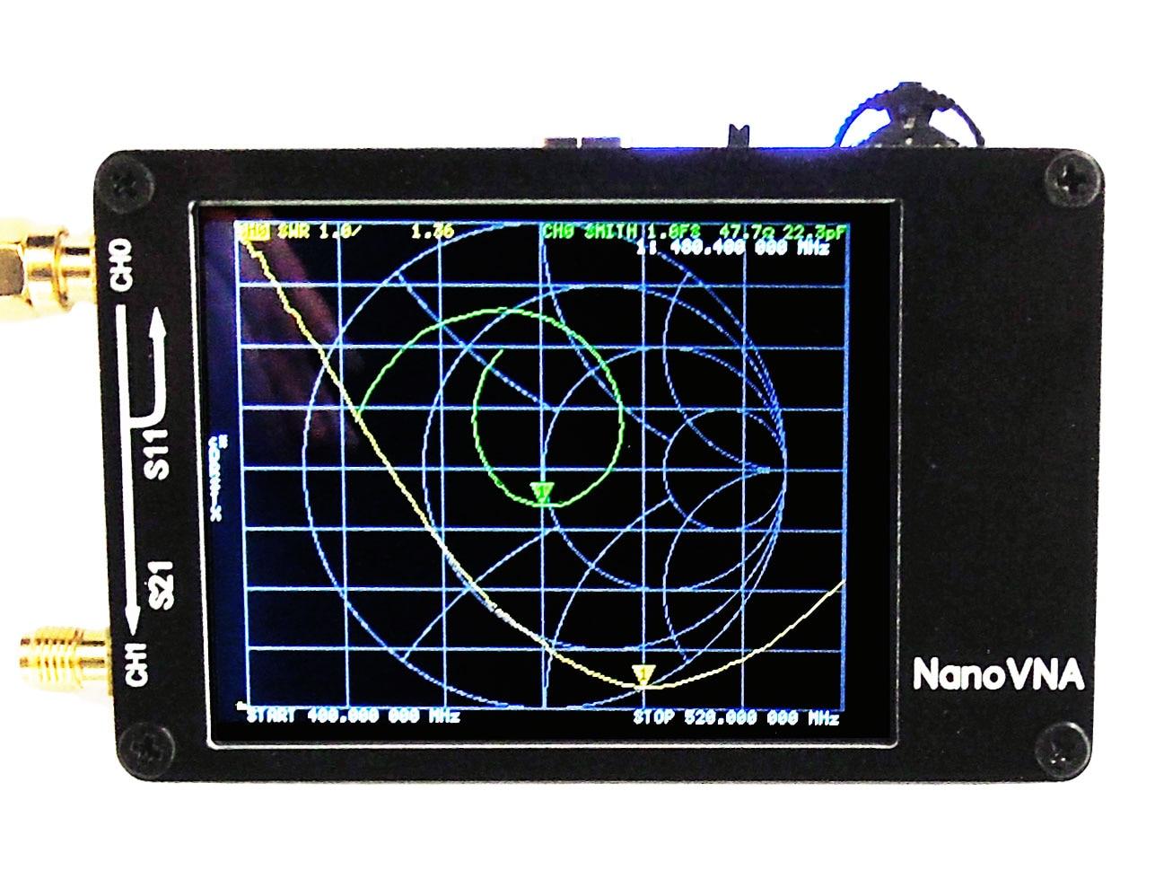 NanoVNA Vector Network Analyzer Antenna Analyzer MF HF VHF UHF