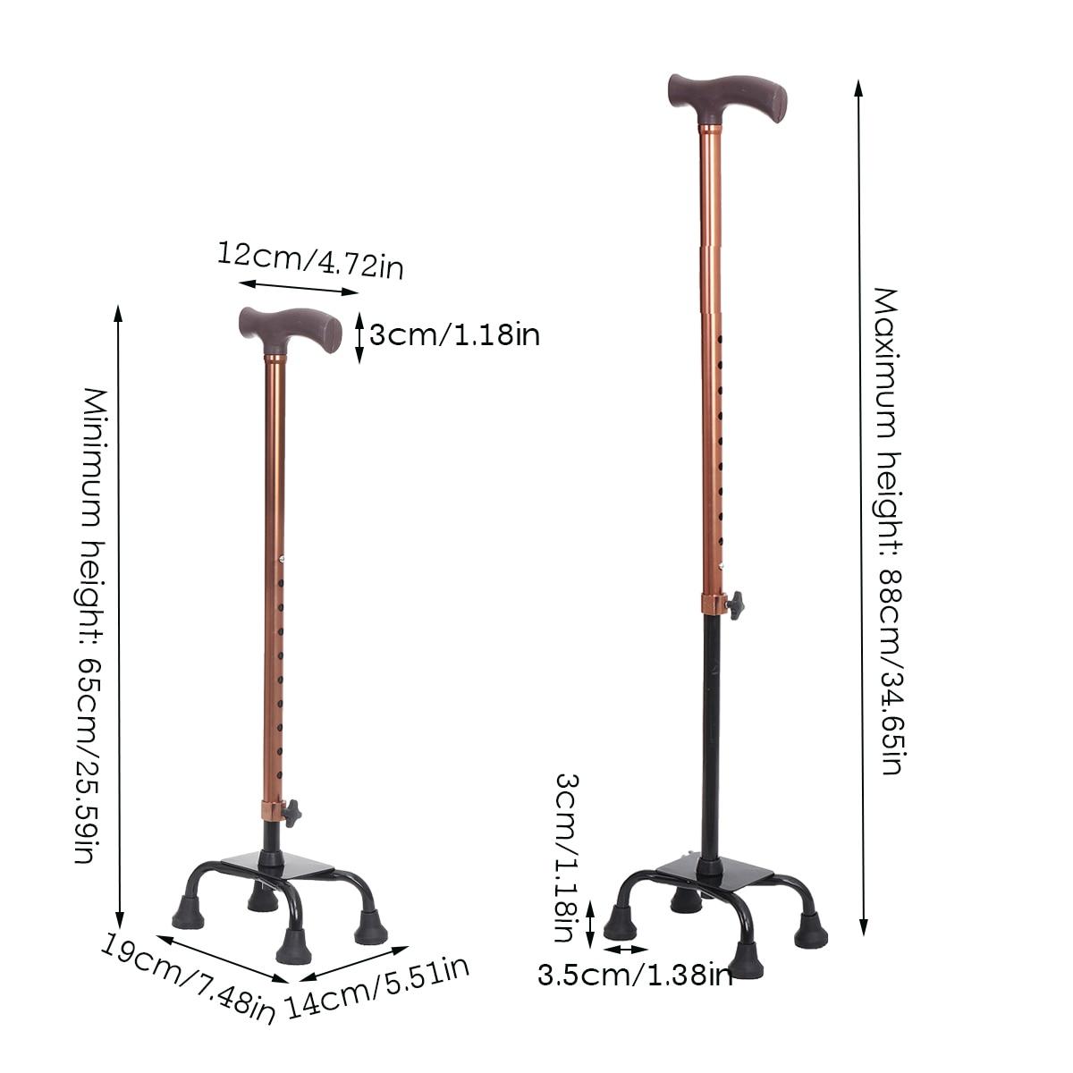 65 88cm altura ajustavel bengalas telescopicas de caminhada 01