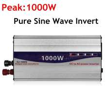 1Set LED Display 1000W Pure Sine Wave Power Inverter 12V/ 24V To 110V Converter Transformer Power Supply(China)
