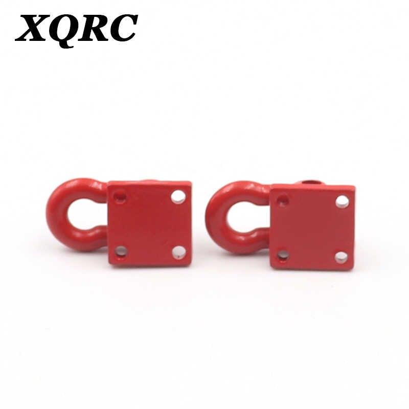 Gancho de remolque de metal para camión XQRC, soporte de remolque de rescate para trx4 axial scx1090046 rc4wd D90 TF2 cc01 de 1 / 10 RC, vehículo rastreado