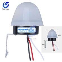 AS-20 автоматический вкл. Выкл. Фотоэлемент переключатель уличного света DC AC 220V 50-60Hz 10A фото управление фотопереключатель сенсор переключатель