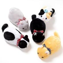 kawaii pencil bag Plush cat pencil case cute korean bag kawaii bag Children gift school stationery Supplies