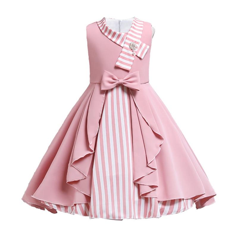 2021 летняя одежда для девочек, детское платье принцессы, фантастическое платье для маленьких девочек, красные и розовые платья для девочек 10 лет| |   | АлиЭкспресс