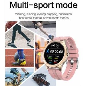 Image 3 - Lykry Smart Horloge S20 Mannen Vrouwen Volledige Ronde Touch Screen IP67 Waterdichte Hartslagmeter Sport Horloges Voor Apple Xiaomi honor