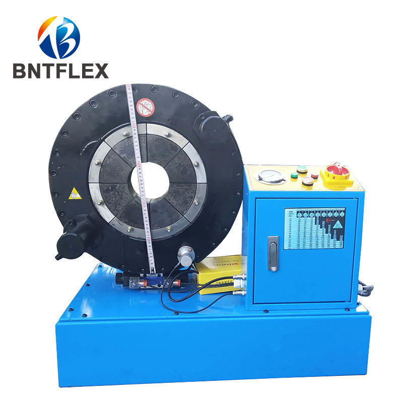 Factory Sales Industrial Hose Crimper 8 Inch Gas Oil Suction Hose Crimping Machine With 5 Sets Of Molds