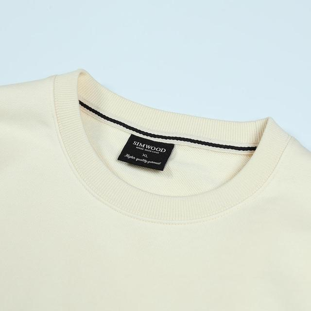 Ivory Sweatshirt with funny travel print