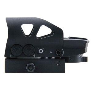 Image 3 - Sistema ótico do vetor catraca gen ii 1x23x34 multi reticle verde red dot sight com qd 20mm tecelão montagem para a caça ao tiro caro