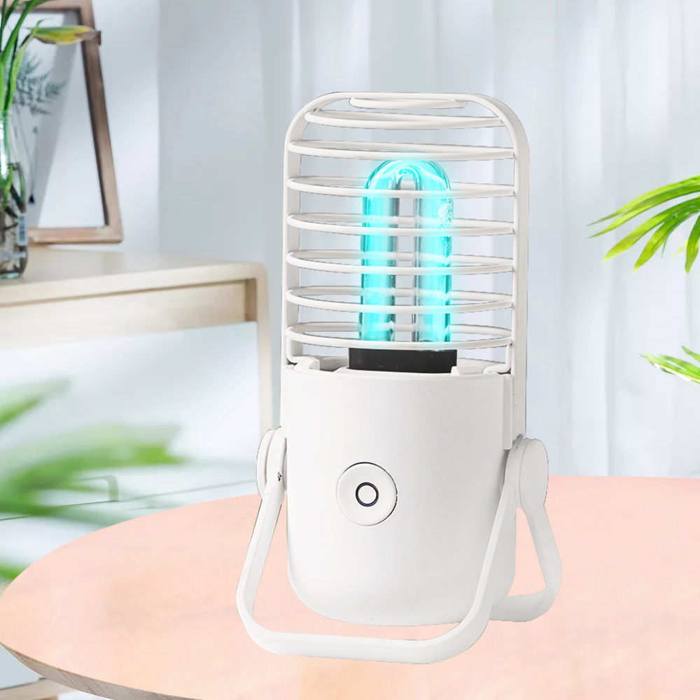 Portable Rechargeable Ultraviolet UV Sterilizer LED Light Germicidal Disinfection Lamp Ozone