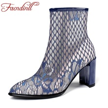 FACNDINLL 2019 new autumn winter women riding boots high qulaity sexy high heels zipper european ladies shoes woman ankle Boots facndinll women boots new fashion autumn winter square high heels pointed toe zipper shoes woman dress party riding ankle boots