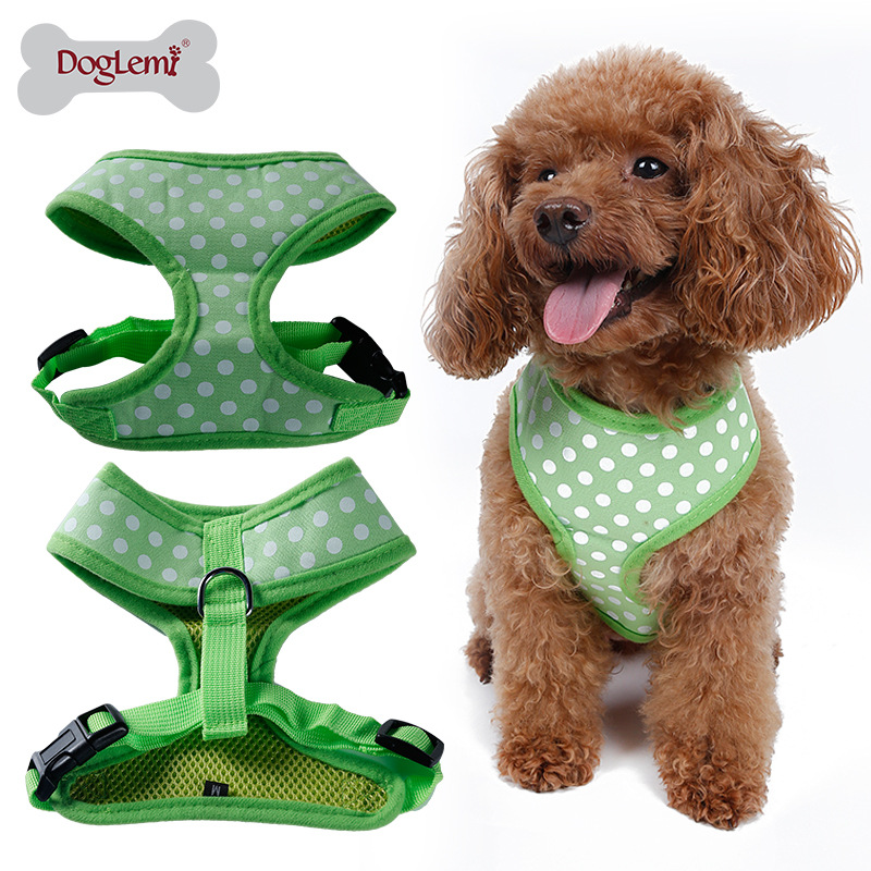 Breathable Cute Pattern Pet Breathable Xiong Bei Tao Medium-sized Dog Thoracic Xiong Bei Tao Vest