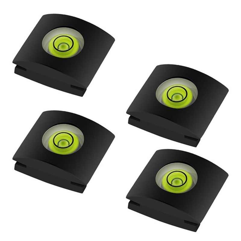 2Pcs/Set Camera Bubble Spirit Level Hot Shoe Protector Cover