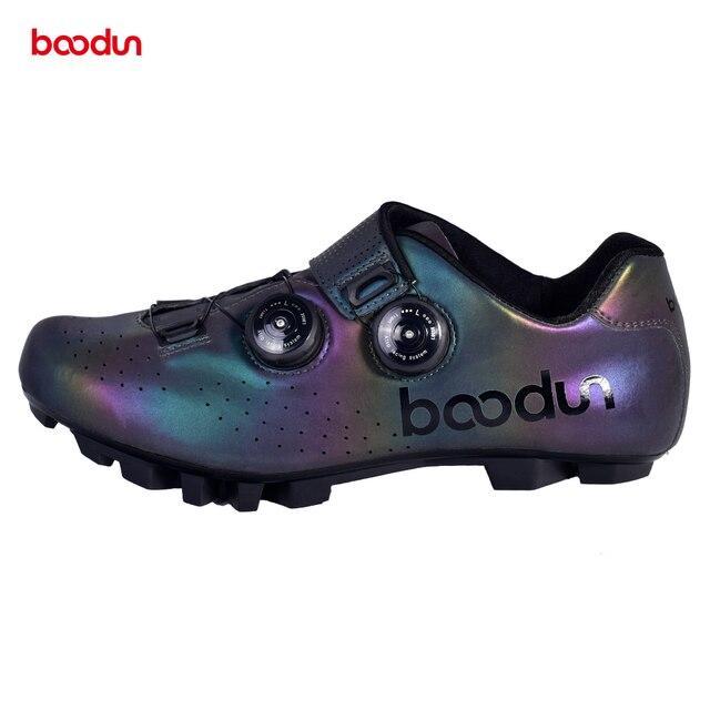 2020 nova mtb sapatos de ciclismo profissional mountain bike respirável tênis de corrida de bicicleta auto-bloqueio sapatos de ciclismo 4