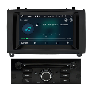 Image 5 - 4G RAM Android 9,0 Auto DVD Player Multimedia Stereo Für Peugeot 407 2004 2005 2006 2007 2008 2009 2010 auto Radio GPS Navigation