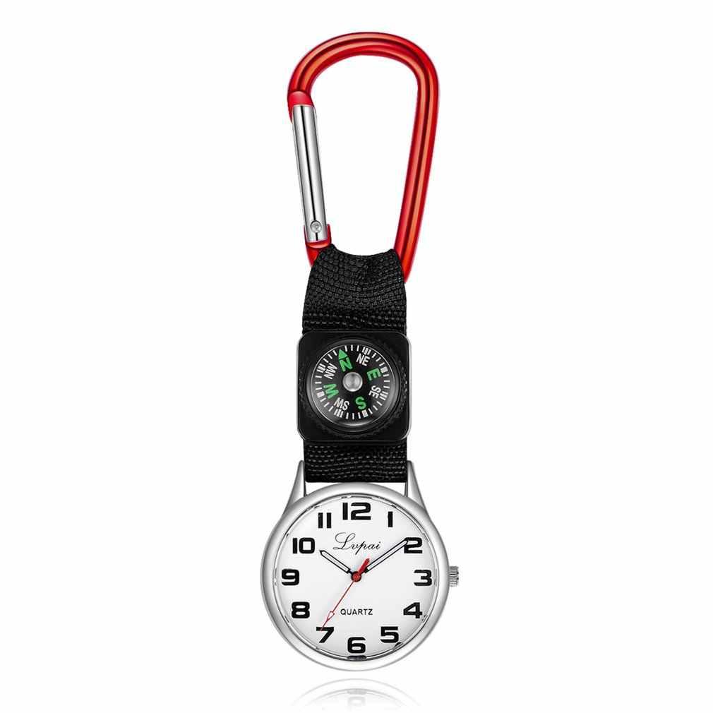 P253 ผู้หญิงผู้ชายนาฬิกาหรูหรากระเป๋านาฬิกาควอตซ์นาฬิกาข้อมือสแตนเลสสตีลเข็มทิศ Climber กีฬานาฬิกาสำหรับ Dropshipping